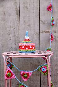 crochet * taart
