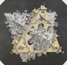 2 'werelden' volgens Escher