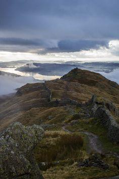 Fairfield horseshoe, Lake District, England by Walks in Dreams