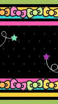 Understanding Your Cat's 5 Senses Bow Wallpaper, Pretty Phone Wallpaper, Iphone 6 Wallpaper, Wallpaper Backgrounds, Phone Wallpapers, Hello Kitty Backgrounds, Hello Kitty Wallpaper, Sanrio, Kawaii Background