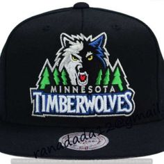 check out 3f07f 6b58f Minnesota Timberwolves Mitchell and Ness NBA XL Logo Snapback Cap Minnesota  Timberwolves, Sports Caps,