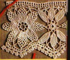Ivelise Handmade: Beautiful Barred lacy In Crochet!