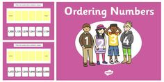 Ordering 4 Digit Numbers PowerPoint
