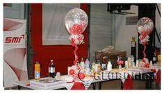 centro de mesa para quinceanera | ... in Centro de mesa con globos. Decoración para eventos de empresa