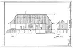 HABS LA,35-BERM,2- (sheet 16 of 32) - Oakland Plantation, Route 494, Bermuda, Natchitoches Parish, LA