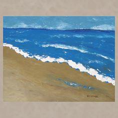 Ocean Beach, acrylic, 24x30