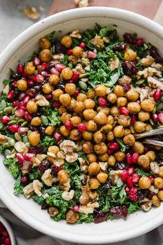 Hearty Delicious, Easy, Chickpea Fall Salad | Recipe | Autumn salad, Healthy fall salads, Easy healthy salad, Good Healthy Recipe