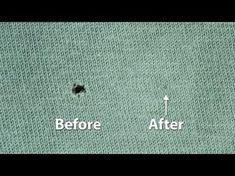 Vous avez fait un trou dans votre pull préféré? Vous n'avez pas à le coudre pour le réparer! Voici ce qu'il faut faire! - Trucs et Astuces - Trucs et Bricolages