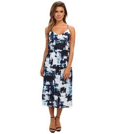 Vince Camuto S/L Watercolor Express High Waist Dress. I actually purchased this from Nordstrom Rack at an insanely good price!