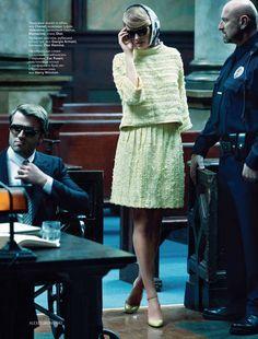 Hot Courtroom Shoots : Constance Jablonski Vogue Russia March 2011