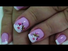Curso de Manicure - Ganhe Dinheiro Em Casa - YouTube Nude Nails, Acrylic Nails, Cool Nail Art, Manicure And Pedicure, Nail Designs, How To Make, Painting, Beauty, Link