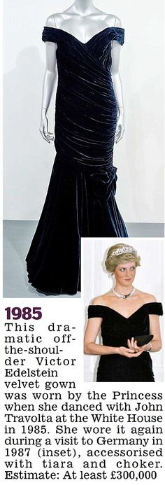 eeb81a724cb For sale  The ten iconic dresses that tell the story of Princess Diana s  extraordinary life
