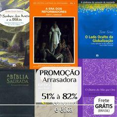 Bíblias e Livros da Promoção Arrasadora | 51% à 82% de Desconto