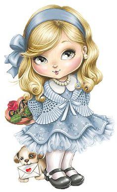 32 new ideas baby ilustration girl sarah kay Cartoon Mignon, Art Mignon, Images Vintage, Cute Cartoon Girl, Sarah Kay, Baby Art, Cute Owl, Cute Images, Cute Disney