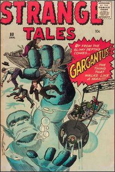 Strange Tales#80, January 1961. Marvel Comics before the Fantastic Four #1