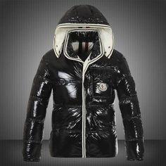 Men Moncler Jacket Black