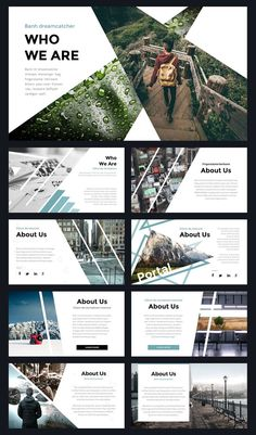 Modern Powerpoint Template by Thrivisualy o. - Portal Modern Powerpoint Template by Thrivisualy o. -Portal Modern Powerpoint Template by Thrivisualy o. Ppt Design, Layout Design, Design De Configuration, Powerpoint Design Templates, Slide Design, Modern Powerpoint Design, Word Design, Cv Template, Keynote Template