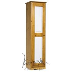 Verona Design Verona 1 Door Wardrobe in Antique Pine and White