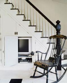 Ideas para aprovechar el hueco de las escaleras