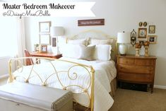 Master Bedroom Decorated in Neutral Colors