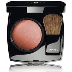 CHANEL JOUES CONTRASTE - COLLECTION LES AUTOMNALESPowder Blush (€41) ❤ liked on Polyvore featuring beauty products, makeup, cheek makeup, blush, beauty, chanel, powder blush and chanel blush