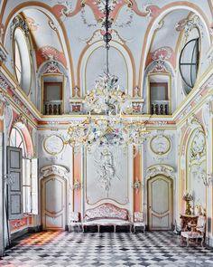 Pastel Room, Racconigi, Italy, 2016