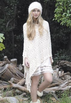 Blanc cocooning - Collection Hiver 2014 Molly Bracken