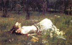 John William Waterhouse | Madeleine Lilu Emelin