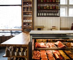 White Gold Butchers restaurant in NYC