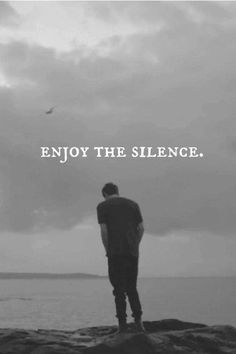 just silence