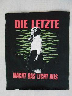 Apokalypse Backpatch - Punk Cyber - kleiderkreisel.de