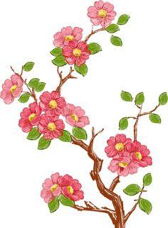 画像サンプル-ツバキ・木と枝 Textile Pattern Design, Textile Patterns, Pattern Art, Flower Drawing Tutorials, Cherry Blossom Art, Fabric Paint Designs, Botanical Drawings, Album Design, Watercolor Flowers