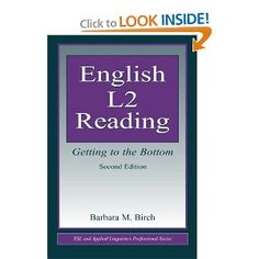 Great book that explains research on reading instruction, and approaches it from the ESL teaching perspective. Contains activities for students, and explains teaching English from a linguistic perspective.