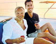 Graham Norton has found love again -- with a tall, dark and handsome businessman.    The popular television presenter is head over heels for Trevor Patterson -- who he is said to have met before Christmas.