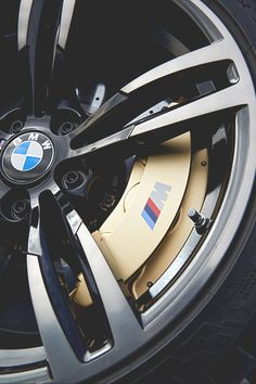 Dat M' badge... #bmw #Mseries #rims Nice #Rims. Protect them with #WheelBands. Only at #Rvinyl.