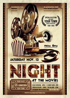 Movie Flyer Template