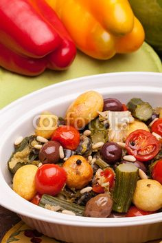 Stock photo at Fotolia: Colorful Stewed Vegetables
