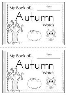 Fall+Autumn+Vocabulary+Words