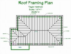 l shaped roof diagram drawing - Yahoo Image Search Results Hip Roof Design, House Roof Design, Roof Truss Design, House Construction Plan, Framing Construction, A Frame Cabin Plans, Flat Roof Lights, Restaurant Floor Plan, Interior Design Renderings