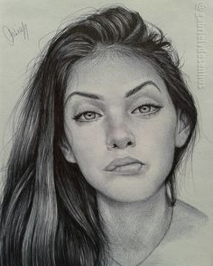 Drawing Realistic Faces Portraits Artists Ideas For 2019 Pencil Portrait Drawing, Portrait Sketches, Portrait Illustration, Portrait Art, Drawing Portraits, Watercolor Portraits, Cool Art Drawings, Pencil Art Drawings, Art Drawings Sketches