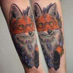 Fox by Georgia Liliane