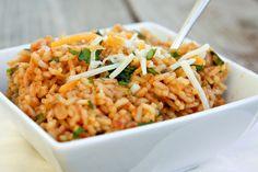 Cheesy Mexican Rice