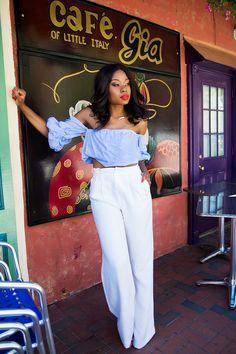 Off shoulder, Chelsea28 high waist, www.jadore-fashion.com