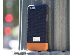 Black Woven Leather Focus Case for iPhone 6S