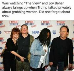 Fkn hypocritical Hollywood assholes. How conveniently forget about our actions. And bye Felicia to the other one!