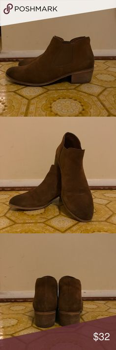 Nordstrom BP brown booties, size 9 Excellent condition, perfect for fall! Nordstrom Shoes Ankle Boots & Booties
