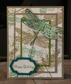 Triple Time Stamping Card Class February 2017 - Masculine