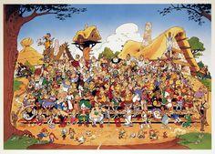 l'anniversaire d'Asterix et Obelix