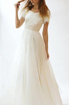 a930a4d36b97f 19 Best Chiffon Wedding Gowns images | Alon livne wedding dresses ...