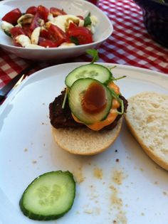 Hamburger Homemade from the Grill